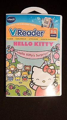 V.Reader Hello Kitty Electronic Learning Game Software