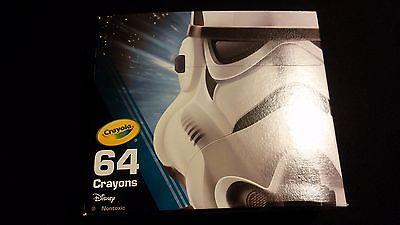 Star Wars STORMTROOPER Limited Edition Crayola Crayons 64Pack Sharpener Built In