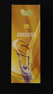SUCCESS 6 Boxes of 20 = 120 GR Incense Sticks Bulk Case Retail Display Box