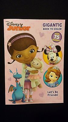 DISNEY Doc McStuffins / Sofia The First / Minnie Jumbo Coloring Activity Book
