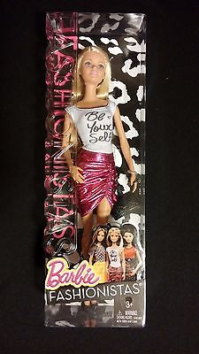 Fashionistas Barbie in Be Yourself Top / Pink Shimmer Skirt MATTEL