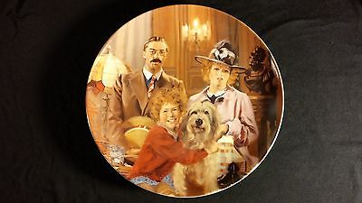 "1986 Little Orphan Annie ""Annie, Lily, Rooster"" Vintage Collectors Edition Plate"