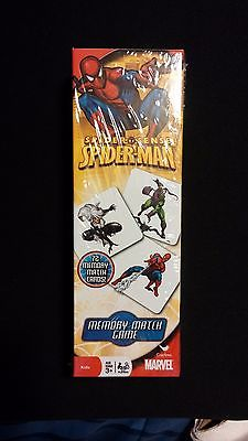 Spider-man Spidey Sense Memory Match 72pc Game
