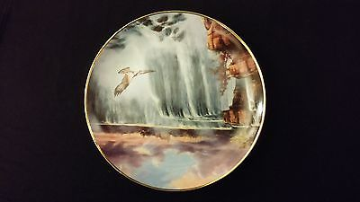 1993 God Bless America Cascading Thunder Danbury Mint Collector Edition Plate