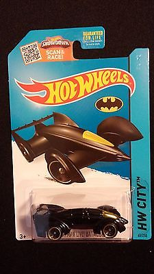 2015 HOT WHEELS Batman Batmobile Live (Black) Collectible POP CULTURE / MOVIES