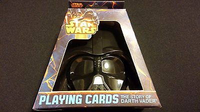 Star Wars The Story of Darth Vader Playing Cards w/ Darth Case