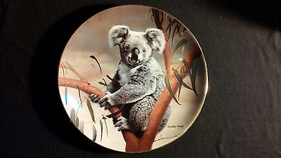 1990 The Koala Nature's Loveables Vintage Collectors Edition Plate