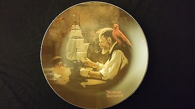 1980 Norman Rockwell The Ship Builder Knowles Vintage Collectors Edition Plate