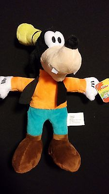 Disney Mickey Mouse's Friend Goofy Soft Bean Bag Plush Toy