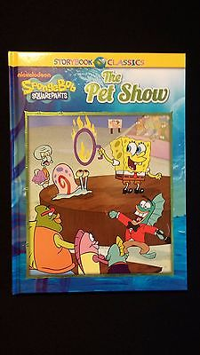 "Spongebob Squarepants Children's Hardback Book ""The Pet Show"""