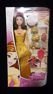 BELLE (Beauty & The Beast) Royal Style Disney Princess Doll
