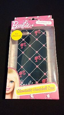 Barbie Glamtastic Hardshell Case for Iphone 5 Cell Phone Accessory Black Diamond