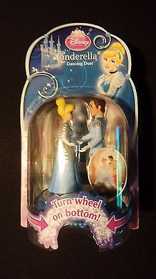 Disney Cinderella Dancing Duet First Dance w/ Prince Charming Base Spins Figures