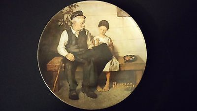 1979 Norman Rockwell Lighthouse Keepers Daughter Vintage Collector Edition Plate