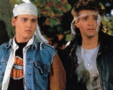 21 JUMP STREET JOHNNY DEPP PETER DELUISE 8x10 Color Photo Television Memorabilia