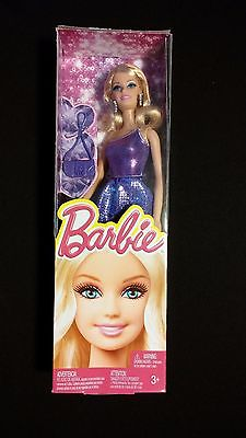 Barbie in Sparkly Sequin Purple Dress MATTEL