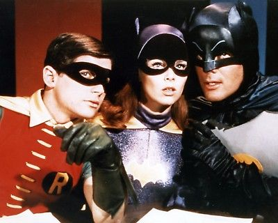 THE BATMAN 1960'S SERIES 8x10 Color Print Photo TV Show Television Memorabilia