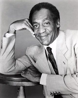 BILL COSBY 8x10 B&W Publicity Photo TV Comedy Television Memorabilia Photograph