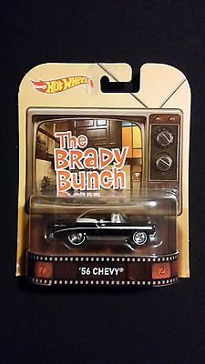 2015 HOT WHEELS Brady Bunch '56 Chevy Convertible Collectible POP CULTURE / TV