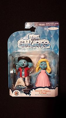 Painter and Smurfette Figurines THE SMURFS