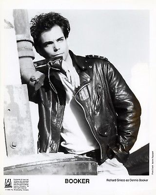 21 JUMP STREET RICHARD GRIECO BOOKER 8x10 B&W Photo TV Television Memorabilia