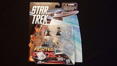 Star Trek Fighter Pods Set - Collectible Spinning Tops Random Pack - 2012 HASBRO
