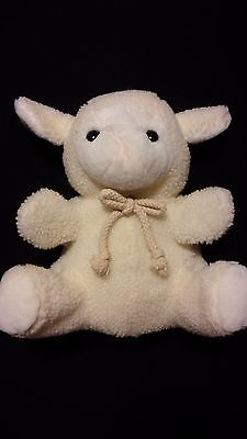 1999 Wooly Lamb (Young Sheep) Hand Puppet - Good Condition Second Hand Toy