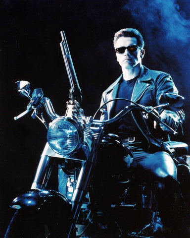 THE TERMINATOR SCHWARZENEGGER 8x10 Color Photo Movie Memorabilia Photograph