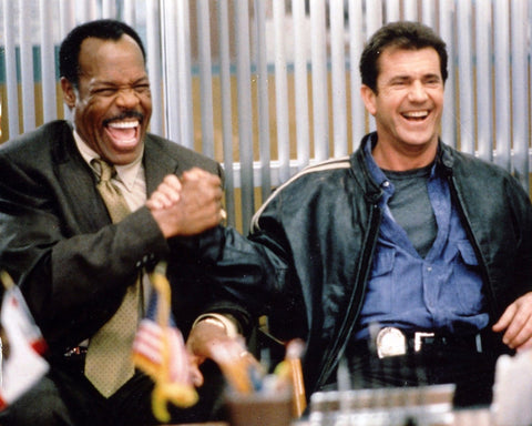 LETHAL WEAPON MEL GIBSON DANNY GLOVER 8x10 Color Photo Print Movie Memorabilia