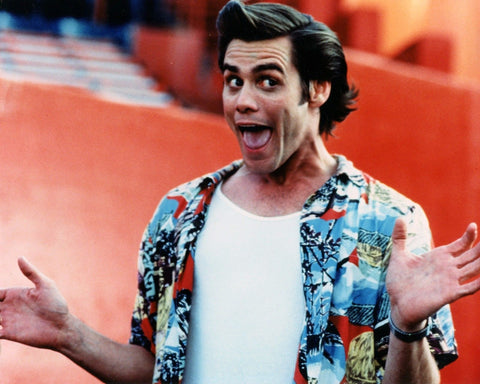 ACE VENTURA JIM CARREY 8x10 Color Photo Comedy Movie Memorabilia Photograph