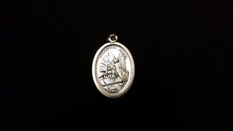 Angel Watching Over Amulet Made In Italy GUARDIAN ANGEL