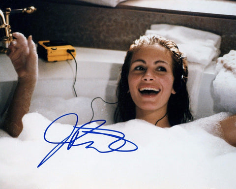 PRETTY WOMAN JULIA  ROBERTS 8x10 Color Signed Reprint Photo Movie Memorabilia