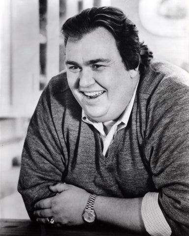 JOHN CANDY 8x10 B&W Publicity Photo Comedy Movie Actor Memorabilia Photograph