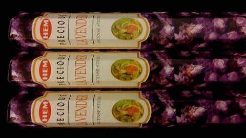 LAVENDER 3 Boxes of 20 = 60 HEM Incense Sticks Bulk Fragrance ~ India