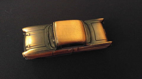 CLASSIC CAR Collectible Pencil Sharpener Antiqued Bronze Die-Cast w/ Plastic