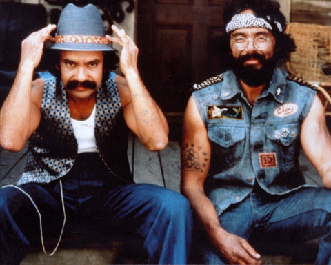 CHEECH & CHONG TOMMY CHONG CHEECH MARIN 8x10 Color Photo Print Movie Memorabilia