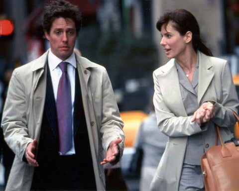 TWO WEEKS NOTICE HUGH GRANT SANDRA BULLOCK 8x10 Color Photo Movie Memorabilia