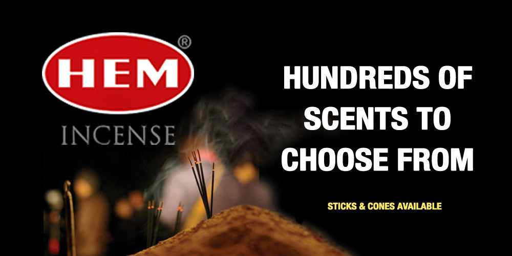 HEM INCENSE HUNDREDS OF SCENTS