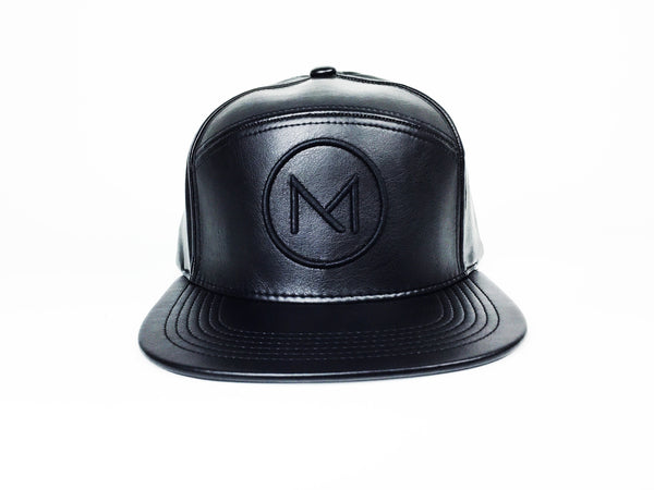 Legion Of GROOM Faux Leather Limited Edition Onyx Black/Black Logo