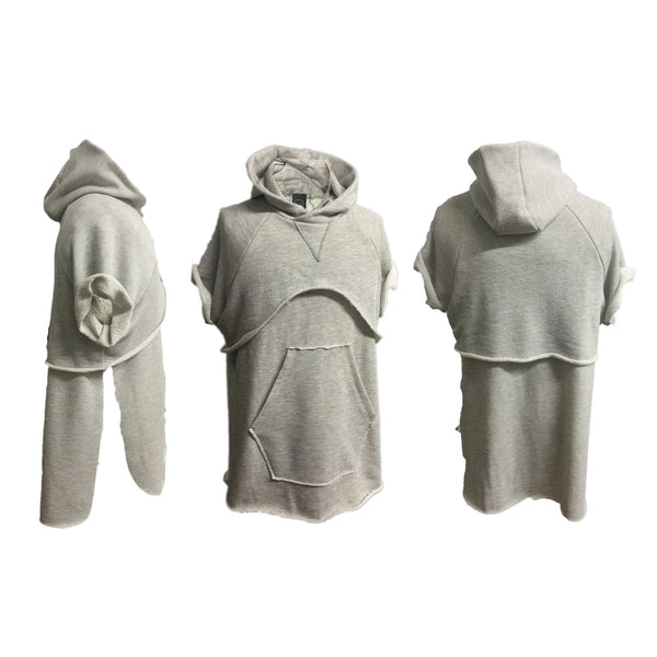 The Zeplin Limited GRAY Tiered Hoodie