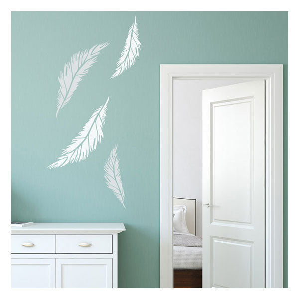 CraftStar Feather Stencils