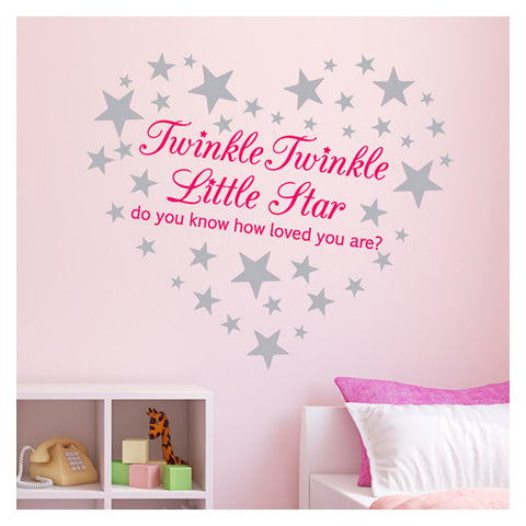 Twinkle Twinkle Little Star Wall Sticker