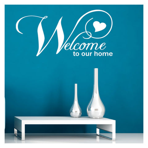 ZygoMax Welcome To Our Home Wall Sticker