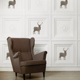 CraftStar Stag Stencil - Reusable Stag Template