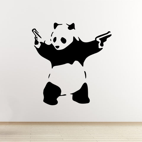 Banksy Panda Wall Sticker