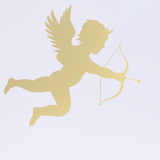 Cupid Wall Sticker - Gold