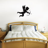 Cupid Wall Sticker - Black