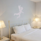 Cupid Wall Sticker - Silver