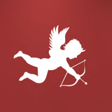 Cupid Wall Sticker - White