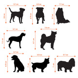 Dog Tile Stickers - Sizes